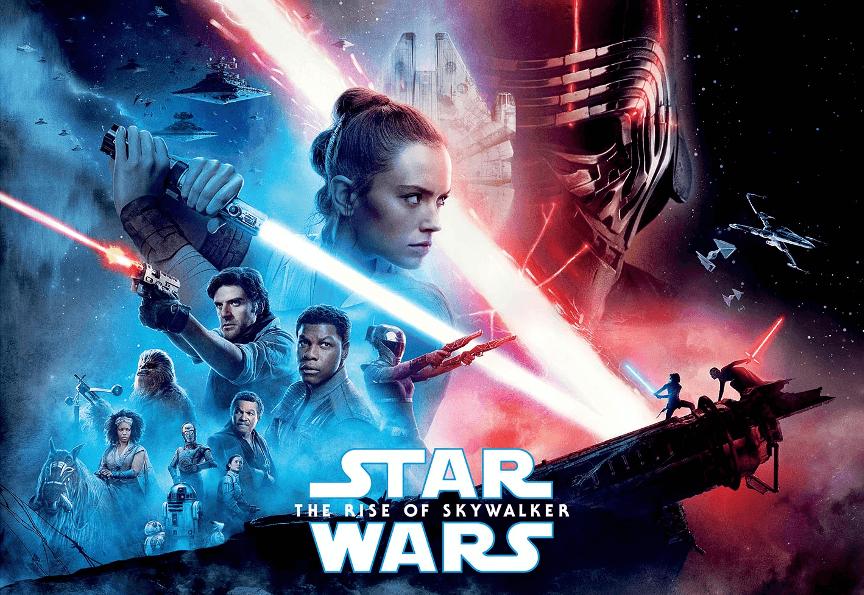 《星際大戰:天行者的崛起》電影海報。