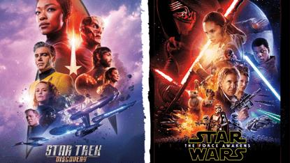 《星際爭霸戰》與《星際大戰》 的影劇系列各自發展至今也推出許多新作。