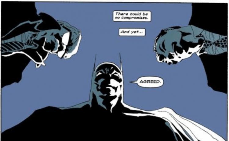 麥特李維斯編導,羅伯派汀森主演的《蝙蝠俠》電影,很可能改編自漫畫《漫長萬聖節》篇章,故事交代了檢警與敵人角色。