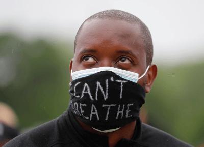 「黑人的命也是命」抗議者。