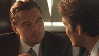 諾蘭電影《全面啟動》中的李奧納多狄卡皮歐。