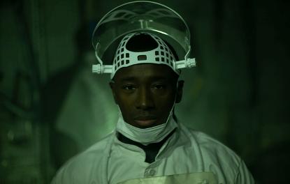 Netflix 恐怖電影《食人劇場》劇照。