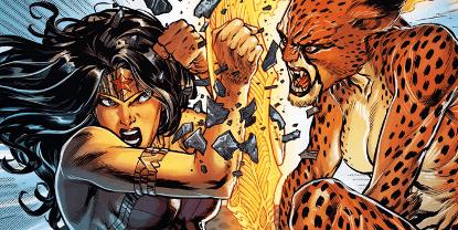 神力女超人與豹女。