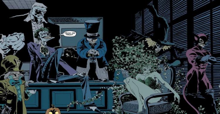 麥特李維斯編導,羅伯派汀森主演的《蝙蝠俠》電影,很可能改編自漫畫《漫長萬聖節》篇章,登場人物豐富也是特色之一。