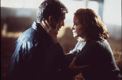 梅爾吉勃遜與茱莉亞羅勃茲電影《絕命大反擊》劇照。
