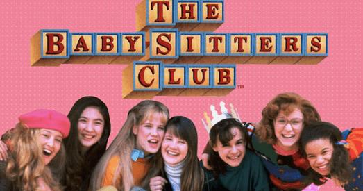 1990 年影集版《保姆俱樂部》劇照。