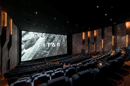 威秀 TITAN 巨幕影廳。
