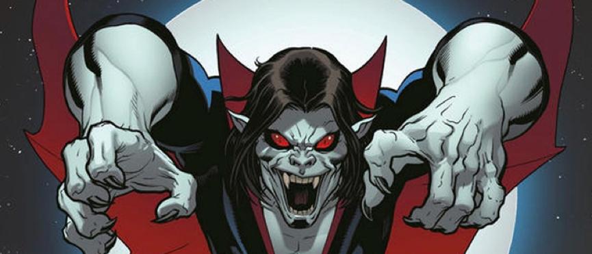 蜘蛛人 系列漫畫中曾經出現過的「 反英雄 」人物之一:麥可莫比亞斯 (Michael Morbius) 。