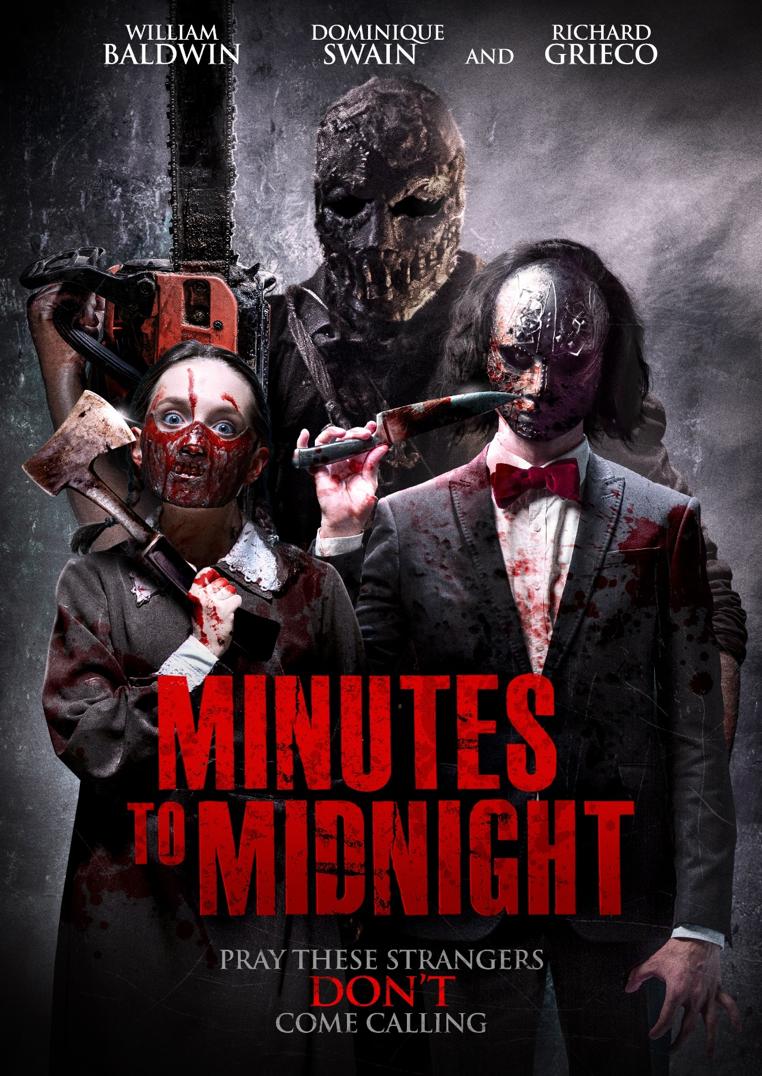 哇喔!《Minites to Midnight》這海報看來真是太刺激了!