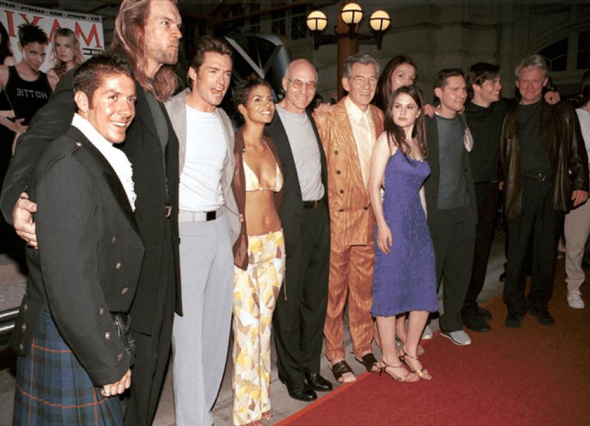 《X 戰警》首映會上的主創人員。