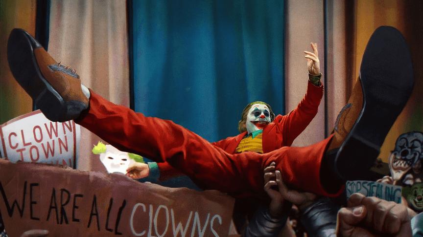 《小丑》電影劇照。