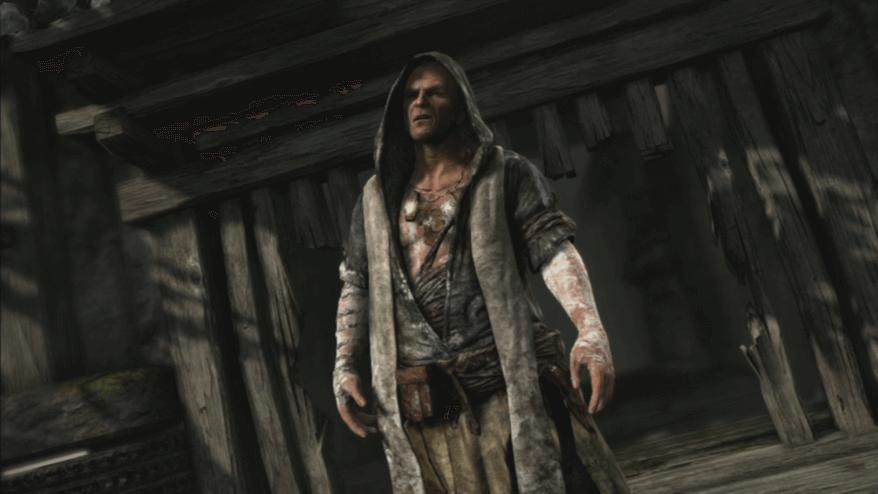 古墓奇兵 遊戲裡的馬提亞斯
