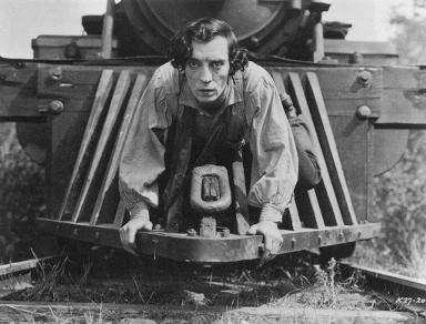 好萊塢的電影替身:在 20 年代默片《將軍號》巴斯特基頓可是親自上陣。