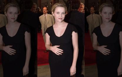懷孕的薇斯朋參加《風流教師霹靂妹》首映紅毯禮。