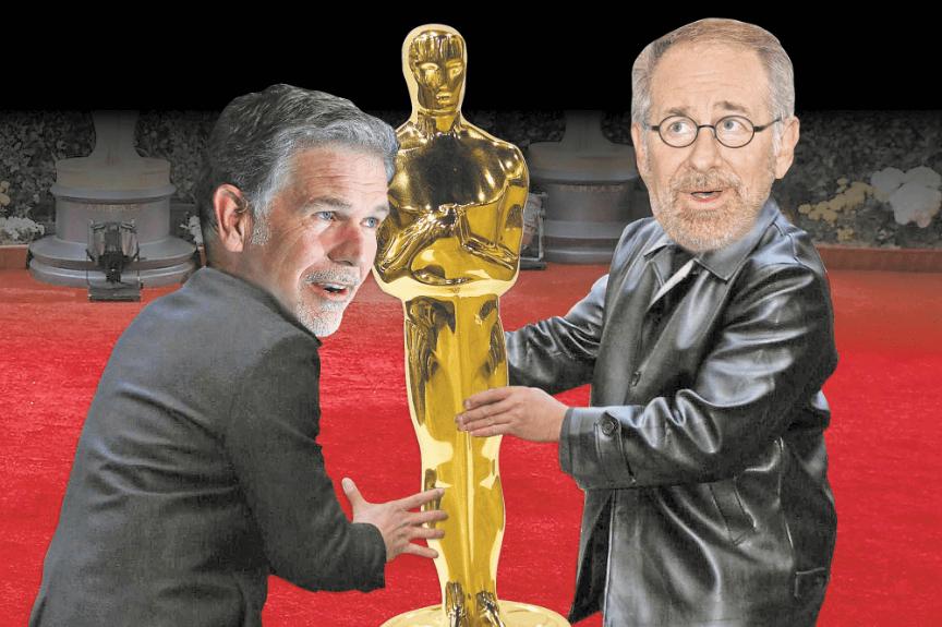史蒂芬史匹柏和 Netflix 的奧斯卡之戰。
