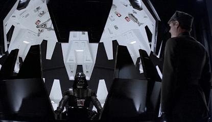 電影《星際大戰五部曲:帝國大反擊》中的經典一幕,黑武士的「中之人」大衛普羅斯惡搞了台詞──而大家實際聽到的是後配口白的版本。