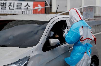 全球肺炎疫情看似趨緩,但韓國光州 7 月起又突發數十起確診案例。