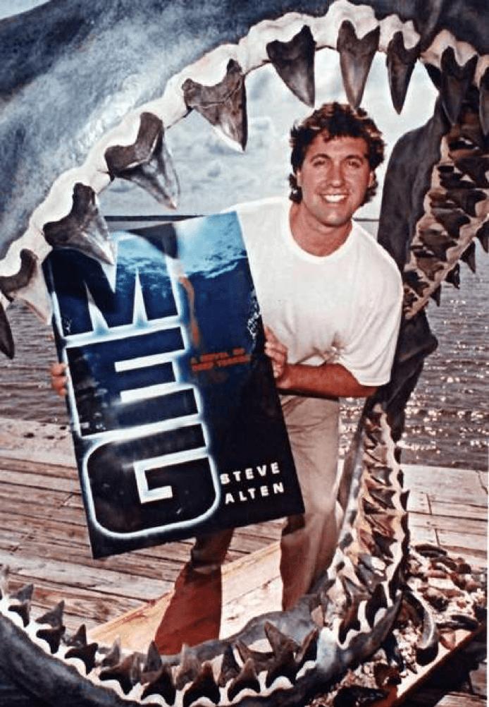巨齒鯊 史蒂夫亞當