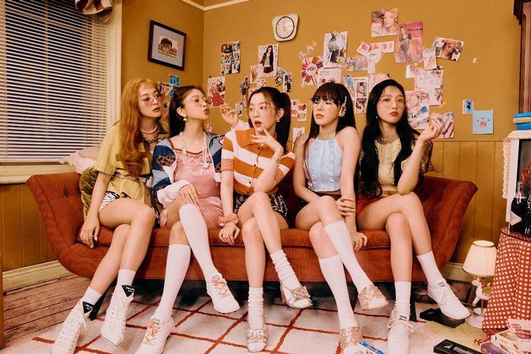 Red Velvet迷你專輯《Queendom》概念照