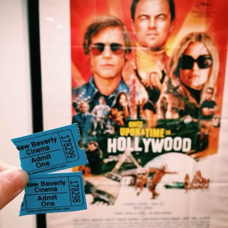昆汀塔倫提諾旗下的新比佛利戲院,將自 6/1 起恢復放映,電影為《從前,有個好萊塢》。
