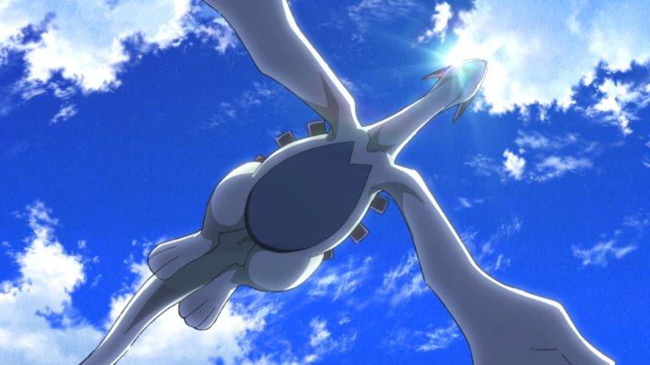 寶可夢 系列故事中的神獸 : 洛奇亞 ,是這次劇場版動畫的關鍵角色。
