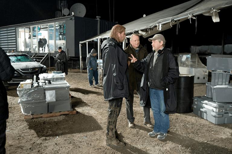 《雷神索爾》(Thor) 拍攝花絮。