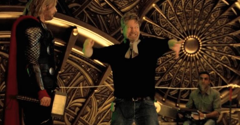 《雷神索爾》(Thor) 幕後花絮。
