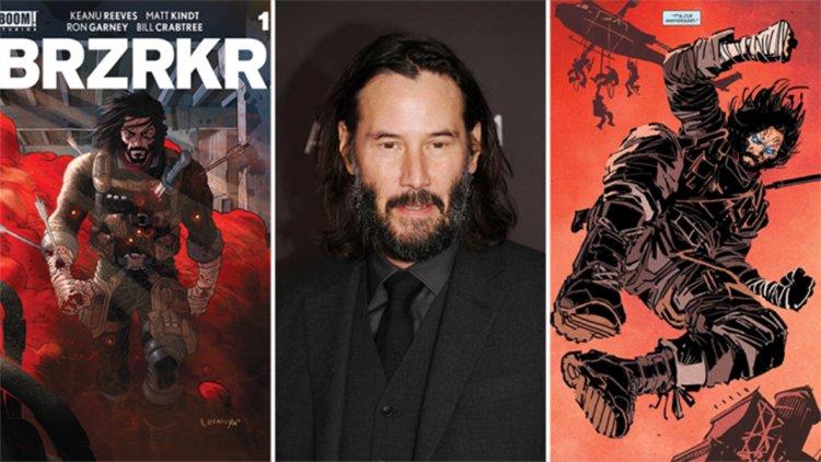 「殺神」來了!基努李維原創漫畫《狂戰士》將由 Netflix 開發真人電影與動畫影集,並由基哥親自擔當製作人、主演!首圖