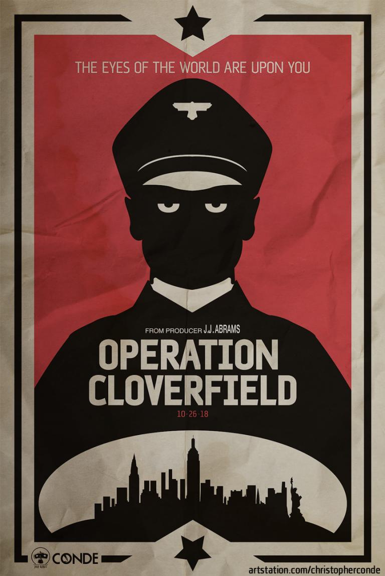 《大君主行動》粉絲海報