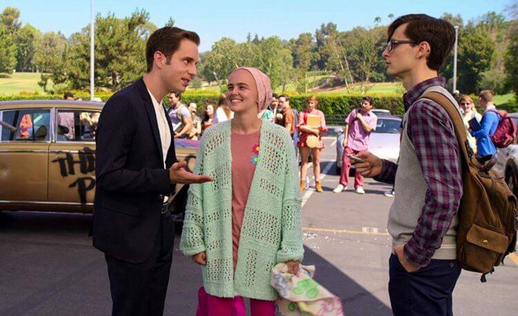 Netflix 原創影集 《大政治家》走諷刺喜劇路線。