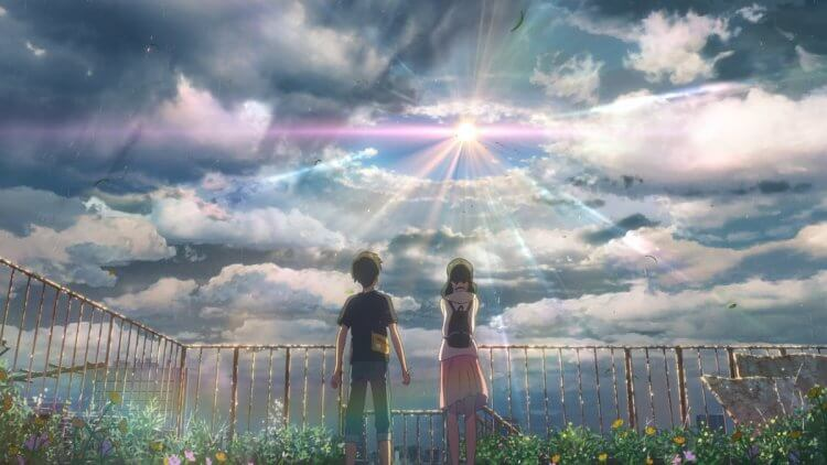 動畫電影《天氣之子》中,離家出走的少年帆高碰上擁有讓天氣放晴之力的女孩陽菜,酸甜戀情與世界的樣貌逐漸明朗。