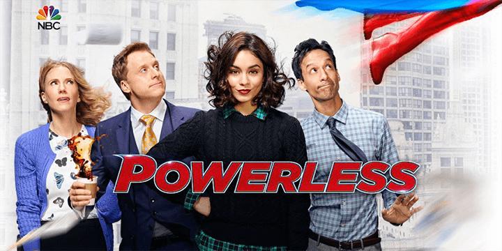 凡妮莎哈金斯 主演,超級英雄題材影集《 無能為力 》。