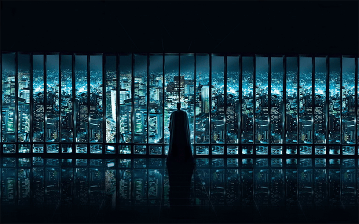 DC 系列的超級英雄,似乎都籠罩著一股黑暗氣息......