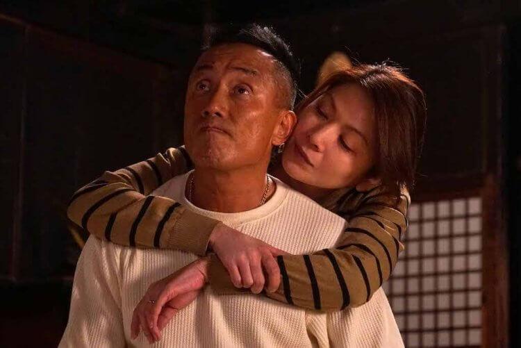 《太陽之家》長渕剛與飯島直子。