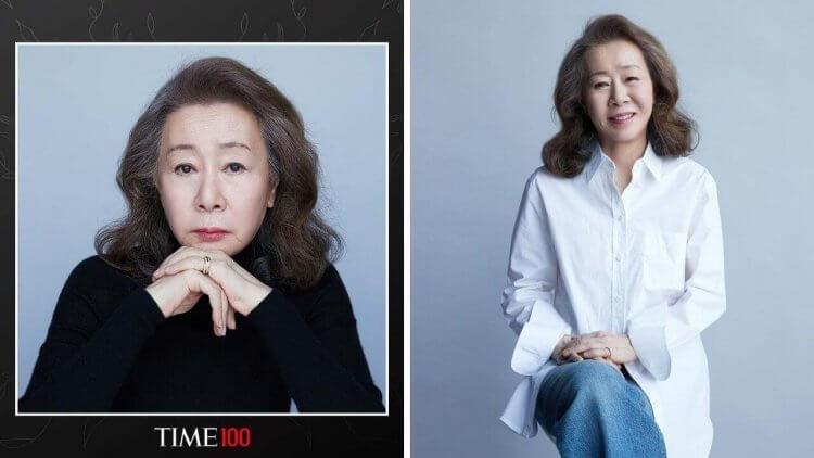 奧斯卡女配角尹汝貞入選《時代》雜誌2021百大人物,謙虛道:「今年是個受到過度稱讚的一年呢!」首圖