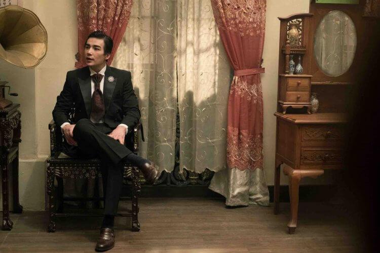 《彼岸之嫁》中的華裔肌肉男神林路迪