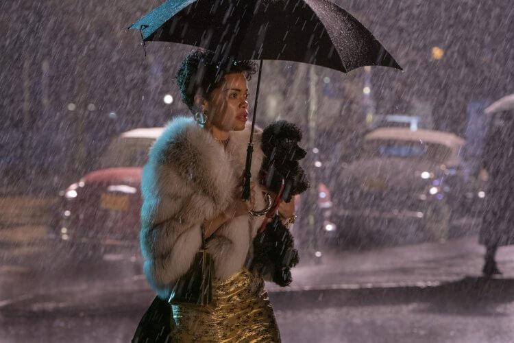 安德拉戴主演傳記電影《哈樂黛的愛與死》劇照。