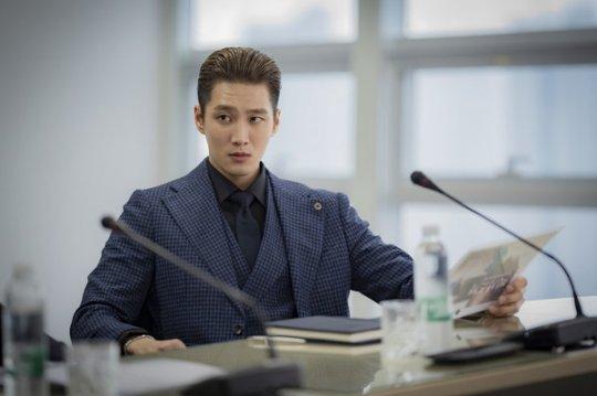 安普賢在《梨泰院Class》中飾演反派男二