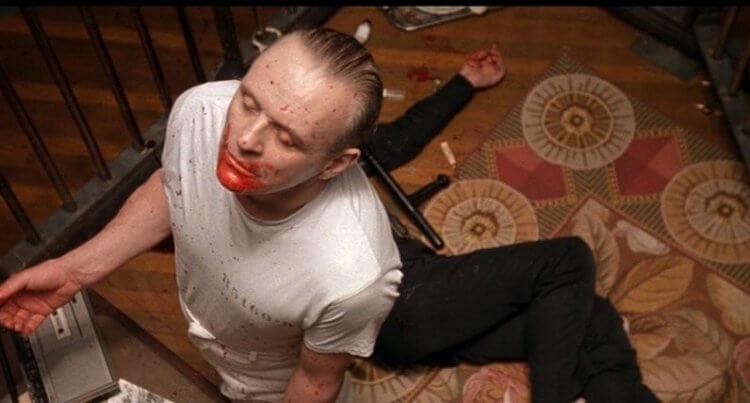 電影《沉默的羔羊》中的安東尼霍普金斯。