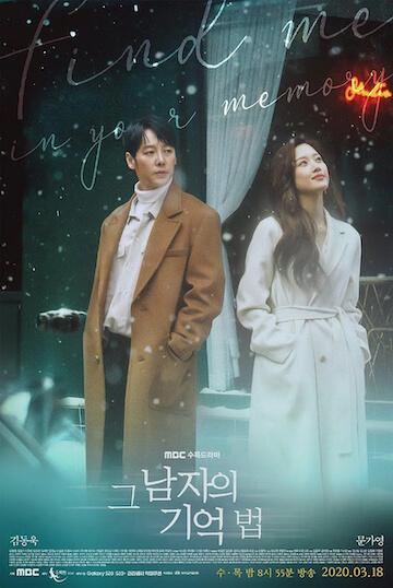 2020 韓劇《那個男人的記憶法》官方海報。