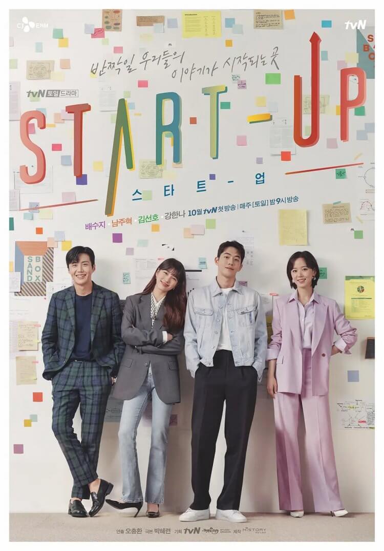 《Start-Up:我的新創時代》官方海報。