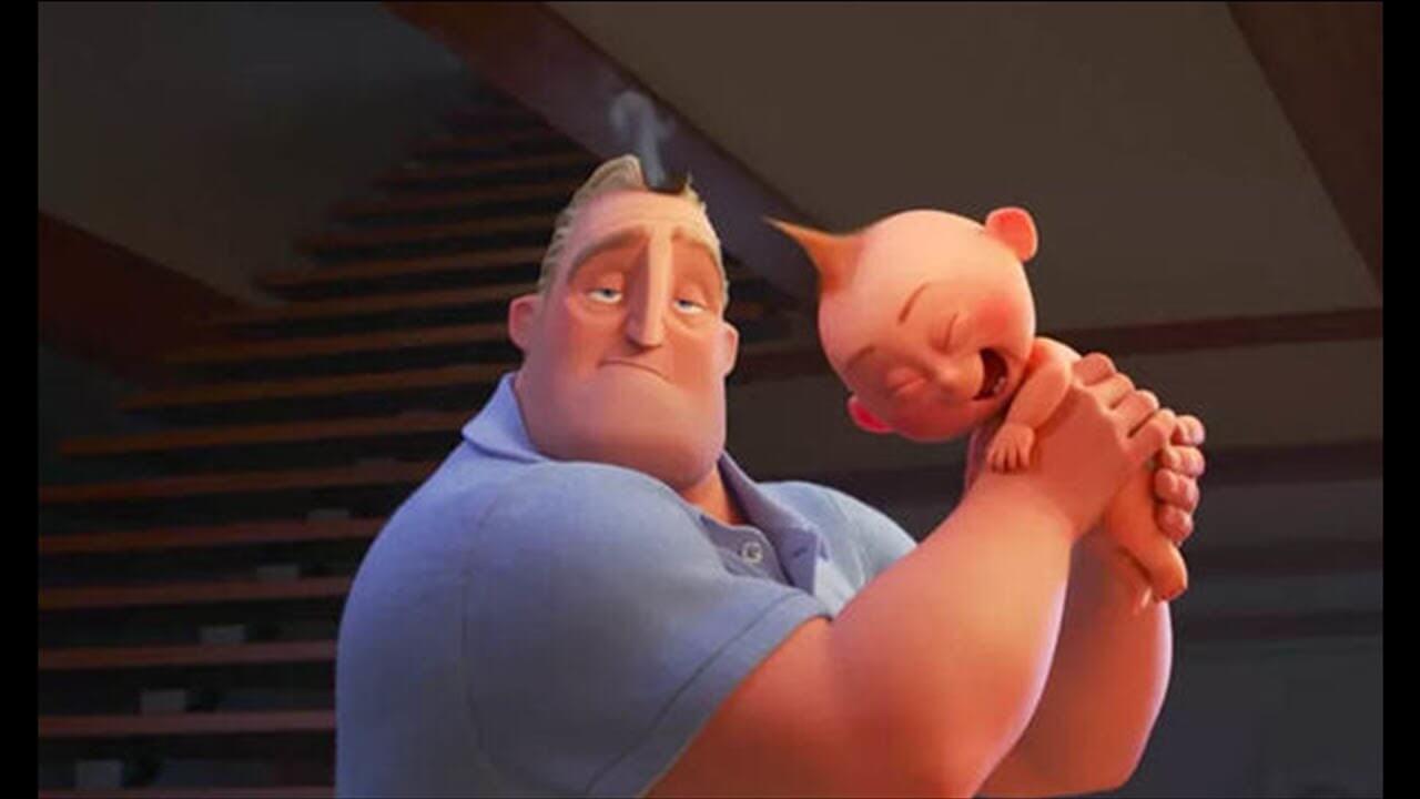 超能先生 也疲於奔命! 不過只要有餅乾就能控制巴小傑,電影最萌的小傢伙。