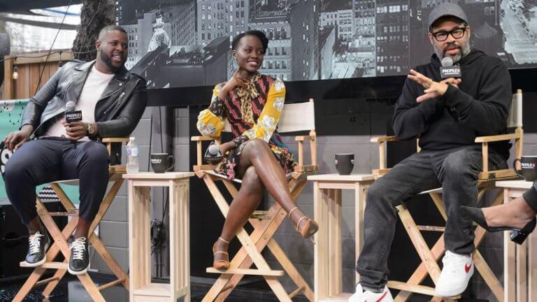 喬登皮爾及《我們》主角:溫斯頓杜克、露琵塔尼詠歐在 SWSX 電影節上接受專訪。