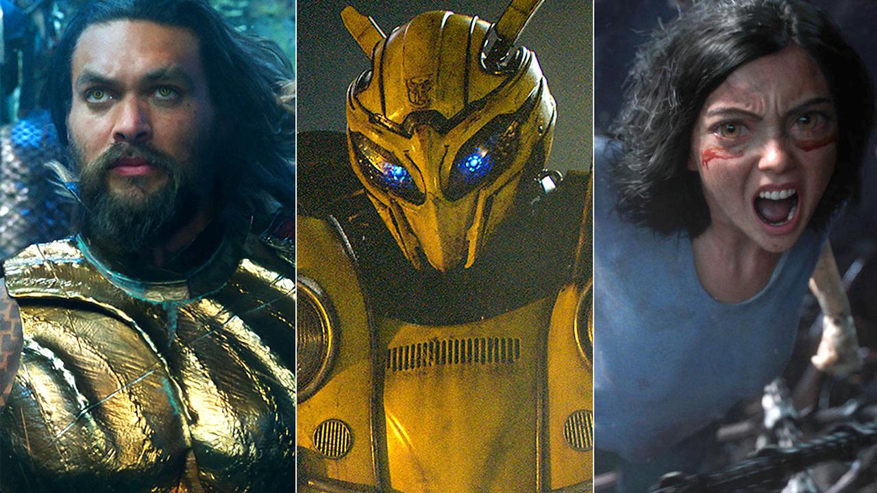 好萊塢票房搶奪戰 :《水行俠》《大黃蜂》等五部大片年底開打!首圖