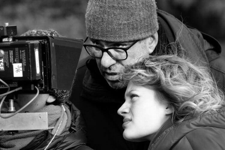 《謎夜拼圖》導演多米尼克摩爾和女演員娜迪亞特雷茨克維奇。