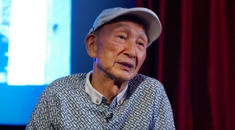 導演蔡揚名榮獲第 58 屆金馬獎「終身成就獎」。