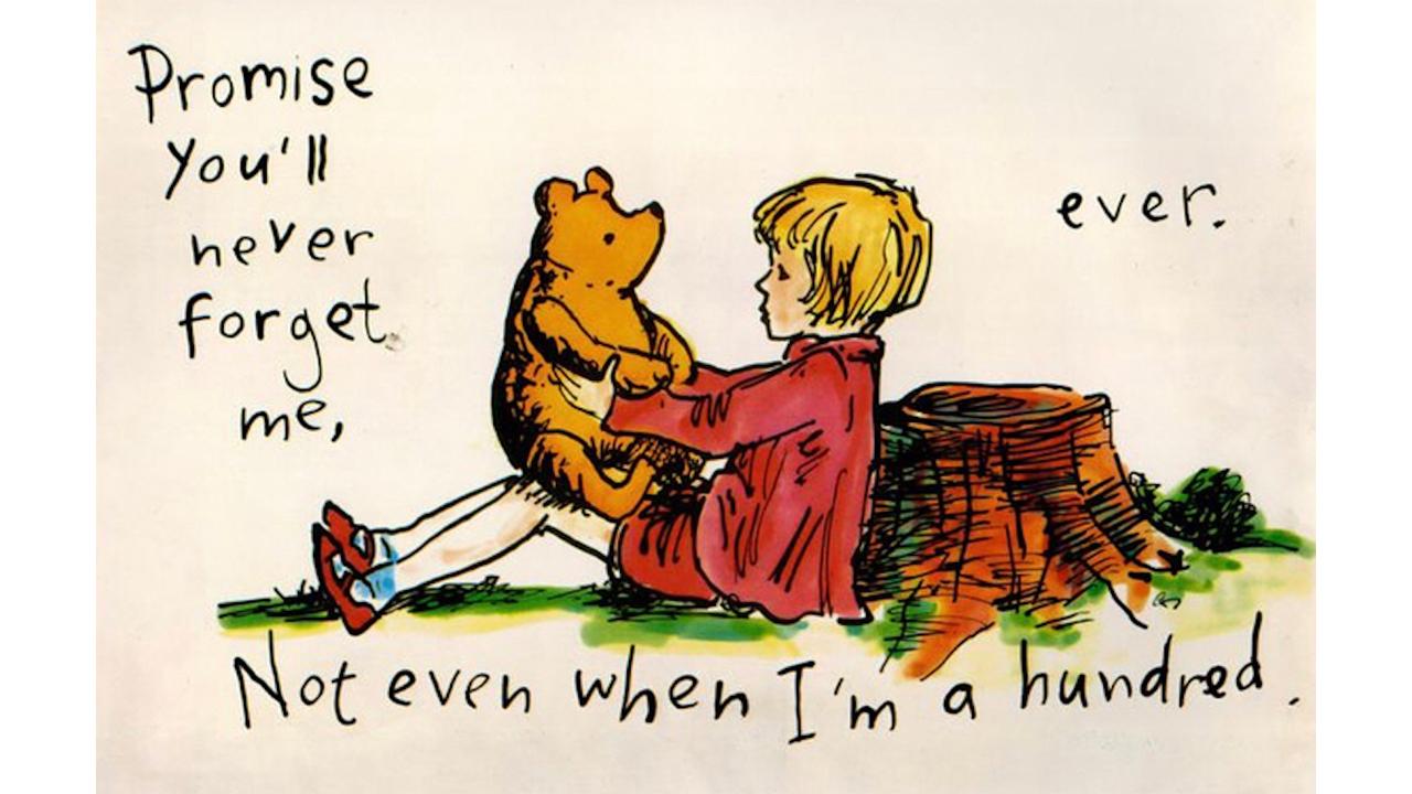 每個 克里斯多福羅賓 =長大的你我,是否也一起和 小熊維尼 一起回歸初衷呢?
