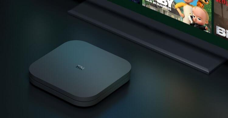 智慧電視盒小米盒子 S。
