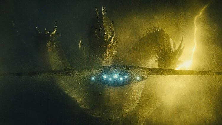 電影《哥吉拉 II:怪獸之王》中的王者基多拉。
