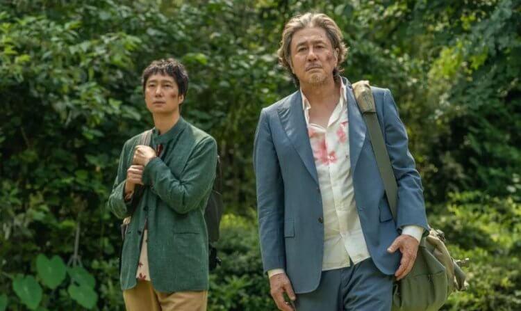 崔岷植、朴海日《走向幸福的國家》劇照